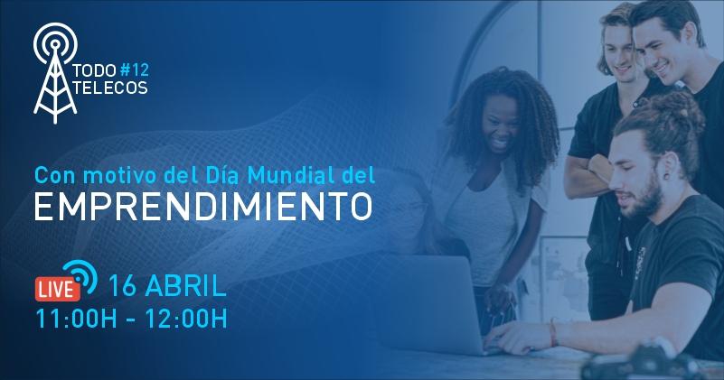 Banner Día Mundial del Emprendimiento
